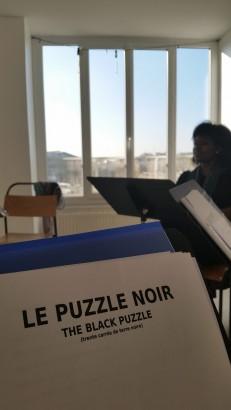 """Première lecture de """"Terre Noire"""" aux Théâtres Les Bouffes du Nord"""