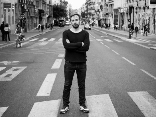 Jeremias Nussbaum sur la rue Lafayette